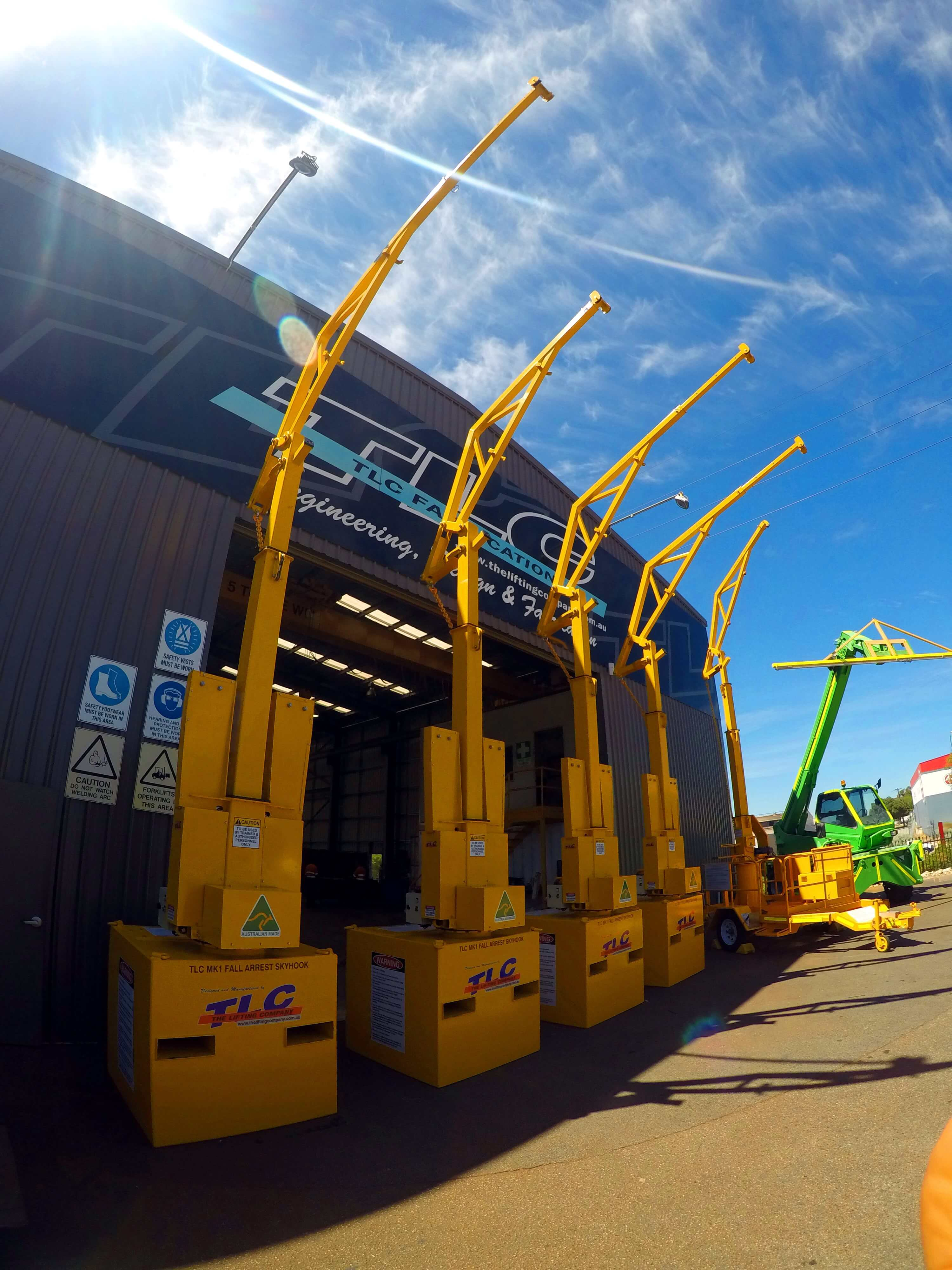 Sky Hook Mk I | TLC Skyhook | Lifting Company in Perth Western Australia