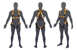 H201 LINQ Tactician Riggers Harness with Trauma Straps 1